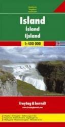 IJsland | autokaart, wegenkaart 1:400.000 9783707904512  Freytag & Berndt   Landkaarten en wegenkaarten IJsland