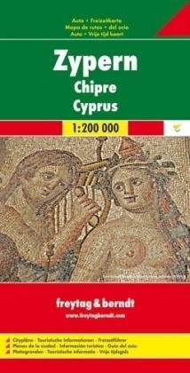 Zypern (Cyprus) | autokaart, wegenkaart 1: 200.000 9783707904789  Freytag & Berndt   Landkaarten en wegenkaarten Cyprus