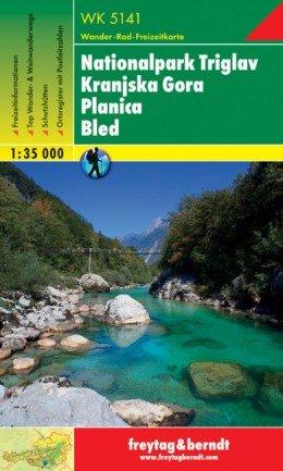 WK-5141 Nationalpark Triglav   wandelkaart 1:35.000 9783707904949  Freytag & Berndt WK 1:35.000  Wandelkaarten Slovenië