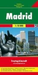Madrid 1:9.500 | stadsplattegrond 9783707906141  Freytag & Berndt   Stadsplattegronden Madrid