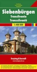 Siebenbürgen (Transsylvanië, Roemenië) | autokaart, wegenkaart 1:400.000 9783707907650  Freytag & Berndt   Landkaarten en wegenkaarten Roemenië, Moldavië