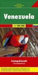 Venezuela | autokaart, wegenkaart 1:1.000.000 9783707909708  Freytag & Berndt   Landkaarten en wegenkaarten Venezuela, Isla Margarita