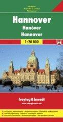 Hannover 1:20.000 Stadsplattegrond 9783707912197  Freytag & Berndt   Stadsplattegronden Schleswig-Holstein, Hamburg, Niedersachsen