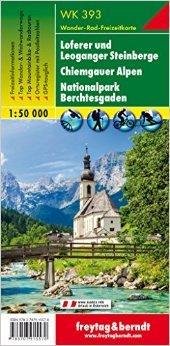 WK-393 Loferer und Leoganger Steinberge 9783707915570  Freytag & Berndt WK 1:50.000  Wandelkaarten Salzburg, Karinthië, Tauern, Stiermarken