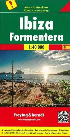 Ibiza & Formentera 1:40.000 9783707916232  Freytag & Berndt   Landkaarten en wegenkaarten, Wandelkaarten Ibiza