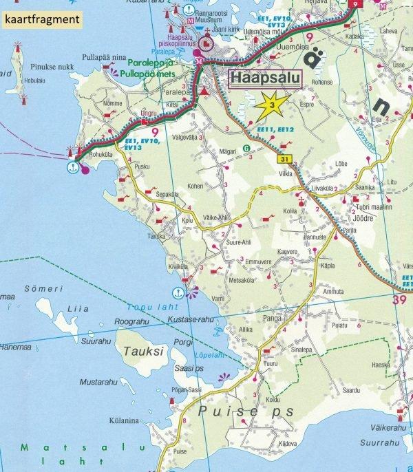 Estland   wegenkaart, autokaart, fietskaart 1:150.000 9783707917727  Freytag & Berndt   Fietskaarten, Landkaarten en wegenkaarten Estland