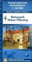 Hoher Fläming 1:50.000 9783749040735  LVA Brandenburg   Wandelkaarten Berlijn, Brandenburg