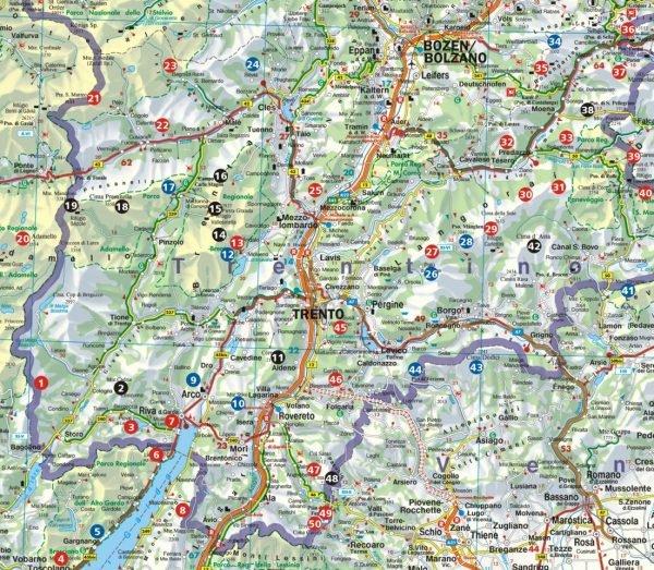 Trentino und Gardasee 9783763330423  Bergverlag Rother Rother Wanderbuch  Wandelgidsen Gardameer, Zuid-Tirol, Dolomieten
