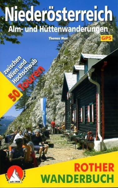 Niederösterreich 9783763330751  Bergverlag Rother Rother Wanderbuch  Wandelgidsen Wenen, Noord- en Oost-Oostenrijk
