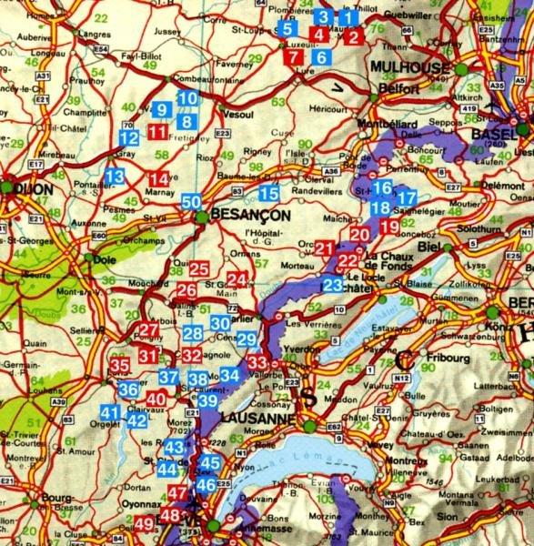 Französischer Jura | Rother Wanderführer (wandelgids) 9783763343720  Bergverlag Rother RWG  Wandelgidsen Jura, Franche-Comté