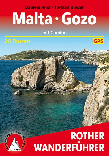 Malta, Gozo und Comino   Rother Wanderführer 9783763345168  Bergverlag Rother RWG  Wandelgidsen Malta