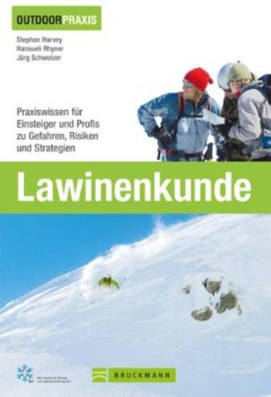 Lawinenkunde 9783765457791  Bruckmann   Wintersport Reisinformatie algemeen
