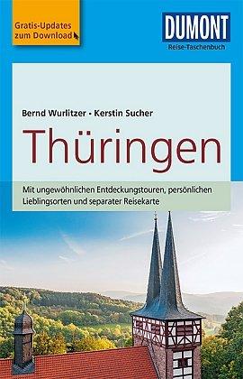 Thüringen | Reise-Taschenbuch 9783770175109  Dumont Reise-Taschenbücher  Reisgidsen Sachsen, Thüringen, Dresden