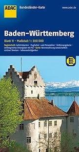 Baden-Württemberg 1:300.000 9783826423239  ADAC Bundesländerkarten  Landkaarten en wegenkaarten Baden-Württemberg