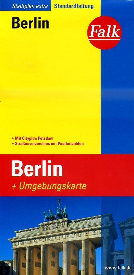 Berlijn, stadsplattegrond 9783827922229  Falk Stadsplattegronden  Stadsplattegronden Berlijn