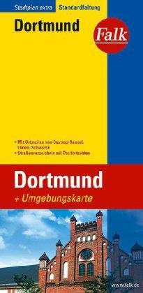 Dortmund stadsplattegrond 1:20.000 9783827922731  Falk Stadsplattegronden  Stadsplattegronden Ruhrgebied