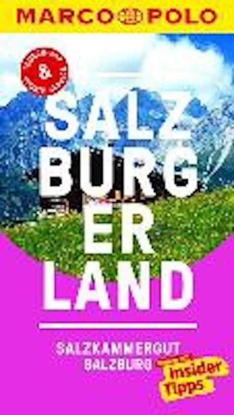 Marco Polo Salzburger Land, Salzkammergut, Salzburg (Duitstalig) 9783829728836  Marco Polo (D) MP reisgidsjes  Reisgidsen Salzburg, Karinthë, Tauern, Stiermarken