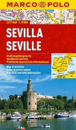 Sevilla stadsplattegrond 1:15.000 9783829730792  Marco Polo (D) MP stadsplattegronden  Stadsplattegronden Sevilla
