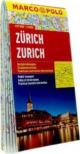 Zürich stadsplattegrond 1:15.000 9783829730914  Marco Polo (D) MP stadsplattegronden  Stadsplattegronden Noordoost- en Centraal Zwitserland