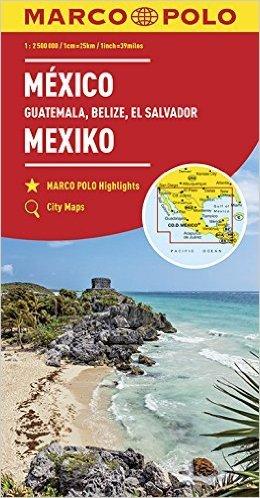 Mexico 9783829739351  Marco Polo MP Wegenkaart  Landkaarten en wegenkaarten Mexico (en de Maya-regio)