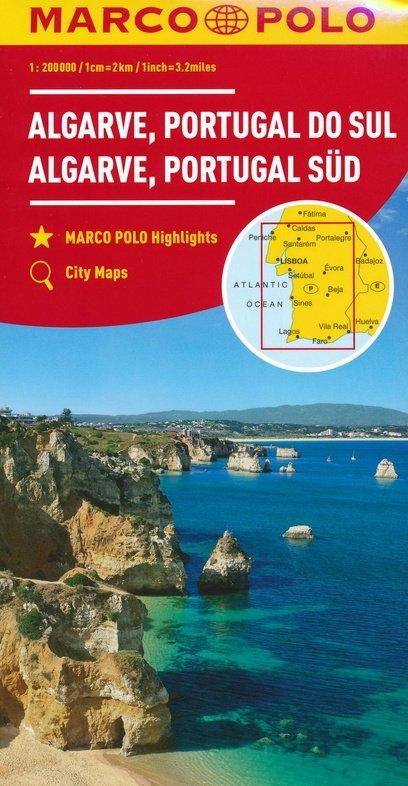 Zuid-Portugal 1:200.000 9783829739900  Marco Polo (D) MP Wegenkaarten  Landkaarten en wegenkaarten Zuid-Portugal, Algarve