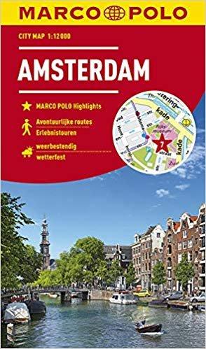 Amsterdam stadsplattegrond  1:12.000 9783829741507  MairDumont Marco Polo Citymaps  Stadsplattegronden Amsterdam