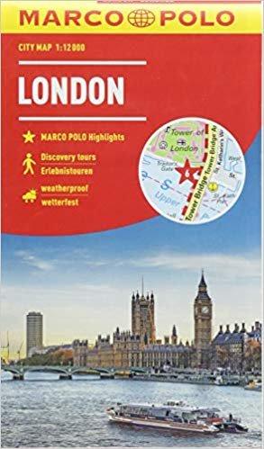 Marco Polo Stadsplattegrond Londen 9783829741729  Marco Polo   Stadsplattegronden Londen