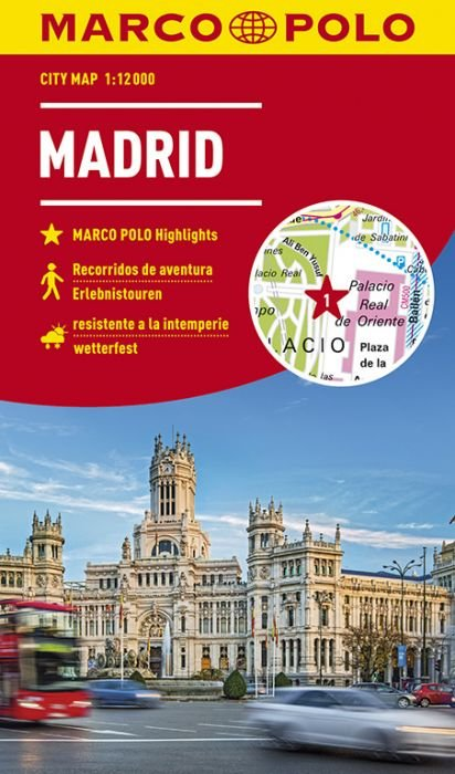Madrid stadsplattegrond 9783829741750  Marco Polo (D) MP stadsplattegronden  Stadsplattegronden Madrid