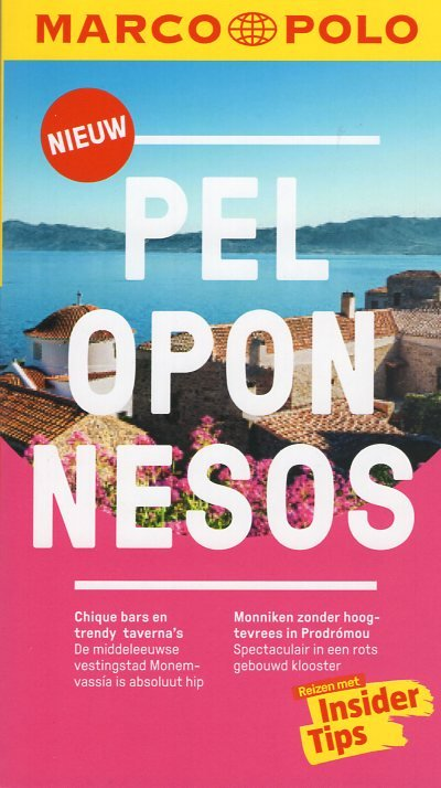 Marco Polo Peloponnesos 9783829758079  Marco Polo MP reisgidsjes  Reisgidsen Peloponnesos