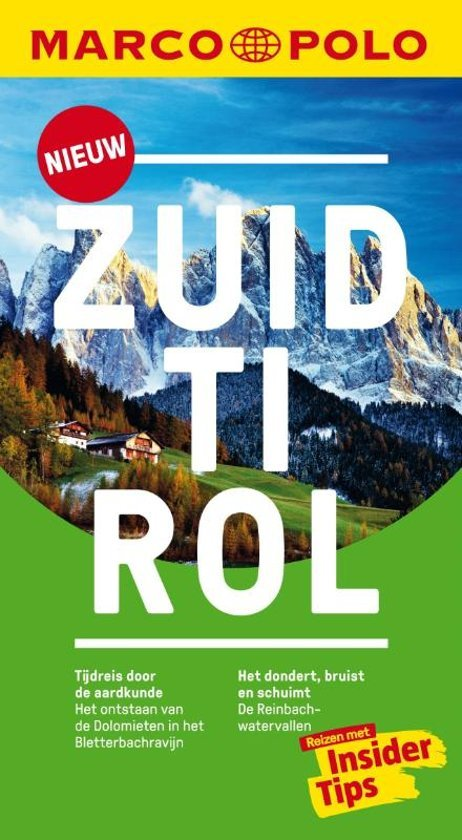Marco Polo Zuid-Tirol 9783829758253  Marco Polo MP reisgidsjes  Reisgidsen Zuidtirol, Dolomieten, Friuli, Venetië, Emilia-Romagna
