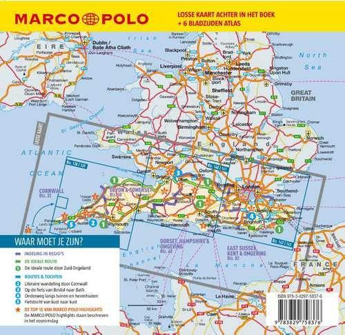 Marco Polo Zuid Engeland 2019 9783829758376 Reisboekhandel
