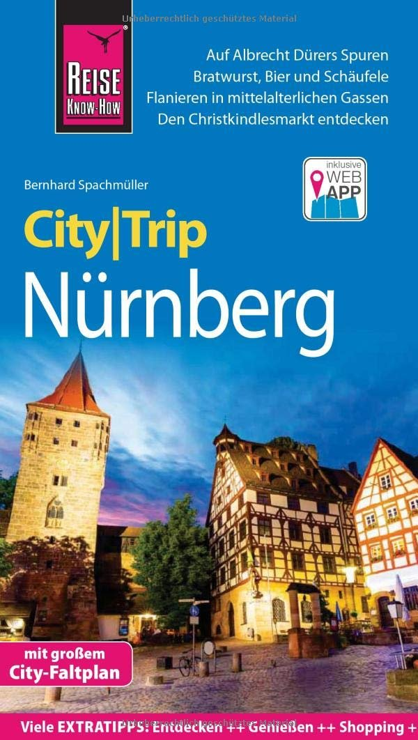 Nürnberg CityTrip 9783831731596  Reise Know-How City Trip  Reisgidsen Beieren zonder de Alpen