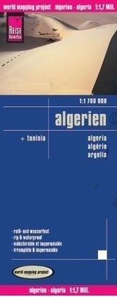landkaart, wegenkaart Algerije 1:1.700.000 9783831771202  Reise Know-How WMP Polyart  Landkaarten en wegenkaarten Algerije, Tunesië, Libië