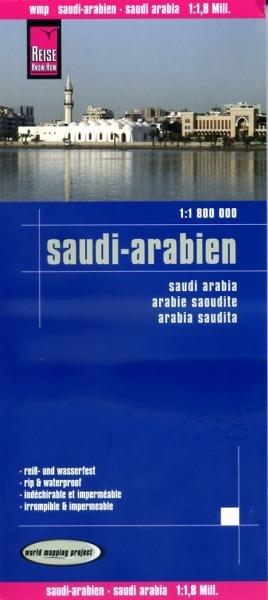 landkaart, wegenkaart Saudi-Arabia 1:1.800.000 9783831772193  Reise Know-How WMP Polyart  Landkaarten en wegenkaarten Oman, Abu Dhabi, Dubai, Saudi-Arabië, Jemen