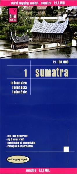 landkaart, wegenkaart Sumatra 1:1.100.000 9783831772285  Reise Know-How WMP Polyart  Landkaarten en wegenkaarten Indonesië