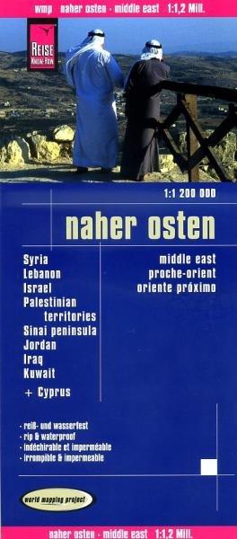 landkaart, wegenkaart Midden-Oosten 1:1.200.000 9783831772407  Reise Know-How WMP Polyart  Landkaarten en wegenkaarten Midden-Oosten