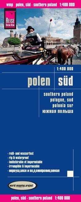 landkaart, wegenkaart Zuid-Polen 9783831772650  Reise Know-How WMP Polyart  Landkaarten en wegenkaarten Polen