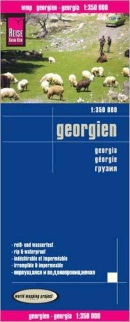 landkaart, wegenkaart Georgië 1:350.000 9783831772728  Reise Know-How WMP Polyart  Landkaarten en wegenkaarten Georgië
