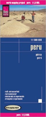 landkaart, wegenkaart Peru 1:1.500.000 9783831772803  Reise Know-How WMP Polyart  Landkaarten en wegenkaarten Peru