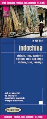 landkaart, wegenkaart Vietnam, Cambodja, Laos 1:1.200.000 9783831772841  Reise Know-How WMP Polyart  Landkaarten en wegenkaarten Indochina