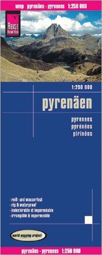 landkaart, wegenkaart Pyreneeën 1:250.000 9783831772896  Reise Know-How WMP Polyart  Landkaarten en wegenkaarten Pyreneeën en Baskenland