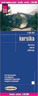 landkaart, wegenkaart Corsica 1:135.000 9783831772926  Reise Know-How WMP Polyart  Landkaarten en wegenkaarten Corsica