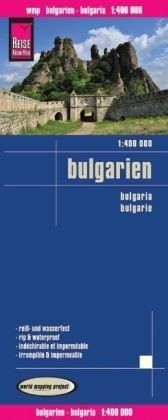landkaart, wegenkaart Bulgarije 1:400.000 9783831773077  Reise Know-How WMP Polyart  Landkaarten en wegenkaarten Bulgarije