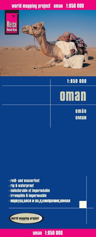 landkaart, wegenkaart Oman 1:850.000 9783831773190  Reise Know-How WMP Polyart  Landkaarten en wegenkaarten Oman, Abu Dhabi, Dubai, Saudi-Arabië, Jemen