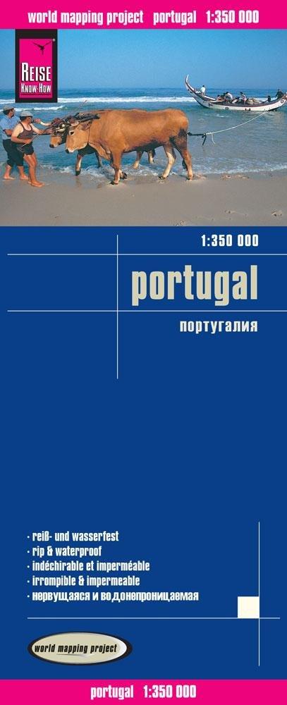 landkaart, wegenkaart Portugal 1:350.000 9783831773374  Reise Know-How WMP Polyart  Landkaarten en wegenkaarten Portugal