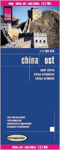 landkaart, wegenkaart China, Oost- 1:2.700.000 9783831773398  Reise Know-How WMP Polyart  Landkaarten en wegenkaarten China (Tibet: zie Himalaya)