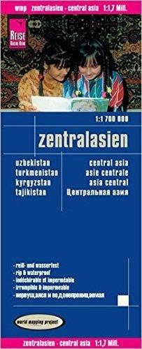 landkaart, wegenkaart Centraal-Azië 1:1.700.000 9783831773671  Reise Know-How WMP Polyart  Landkaarten en wegenkaarten Centraal-Aziatische republieken (Kazachstan, Uzbekistan, Turkmenistan, Kyrgysztan, Tadjikistan)