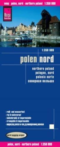 landkaart, wegenkaart Noord-Polen 1:350.000 9783831773725  Reise Know-How WMP Polyart  Landkaarten en wegenkaarten Polen