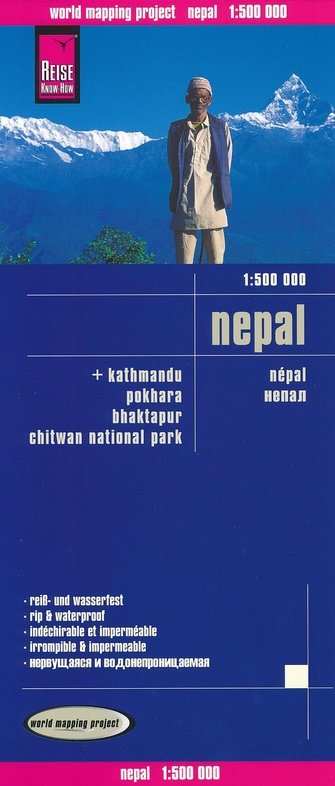 landkaart, wegenkaart Nepal 1:500.000 9783831773831  Reise Know-How WMP Polyart  Landkaarten en wegenkaarten Nepal
