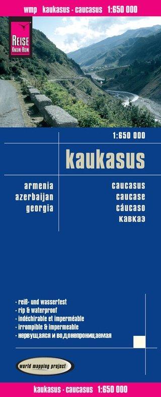 landkaart, wegenkaart Kaukasus 1:650.000 9783831773848  Reise Know-How WMP Polyart  Landkaarten en wegenkaarten Kaukasus